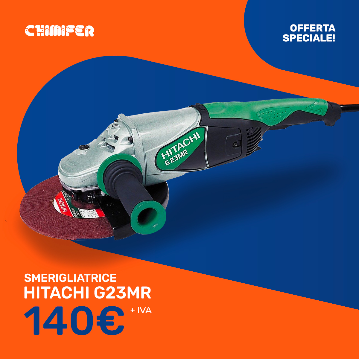 smerigliatrice-hitachi-g23mr-offerta-chimifer